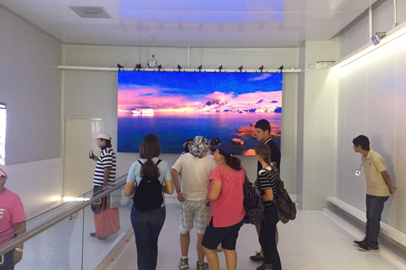 New die-casting aluminum 500mm*1000mm Panel LED Display P4.81 with good feedback