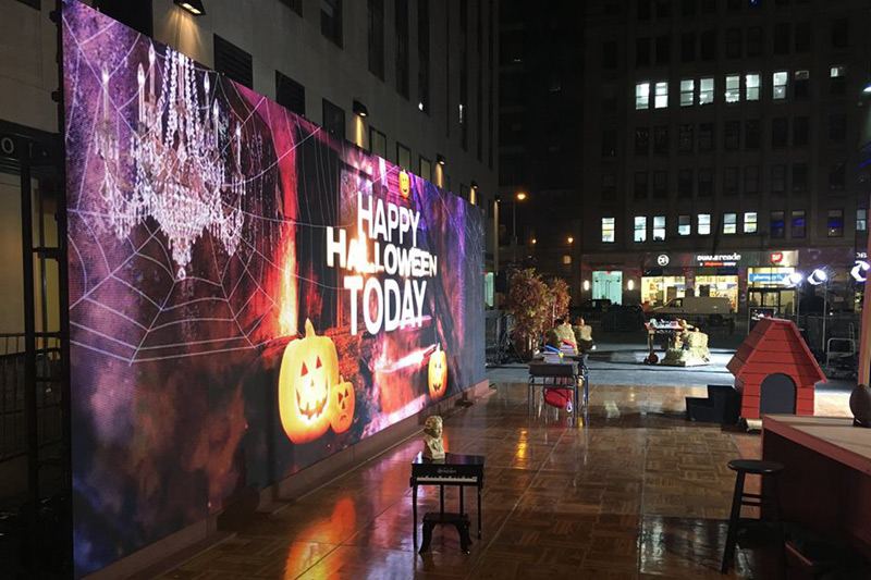 P5.95 Outdoor Event Rental Production LED Screen For Halloween Party