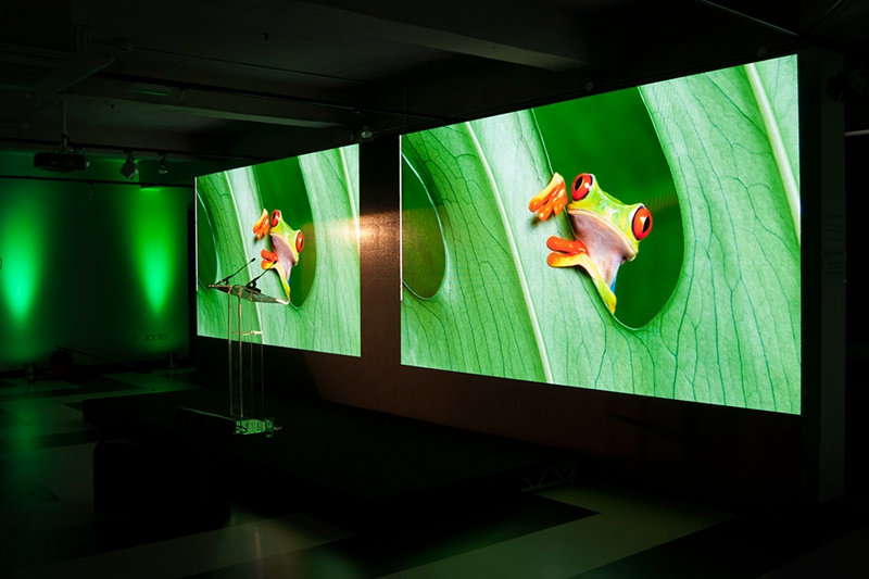 P2.9 AV Rental Production LED Video Wall For Conferences