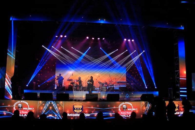 P5.95 Outdoor Concerts Singing Contest Event Rental LED Screen