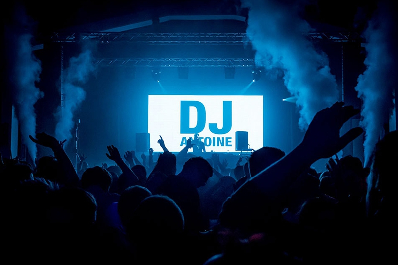 P5.95 Indoor LED Video Wall for DJ parties in Germany