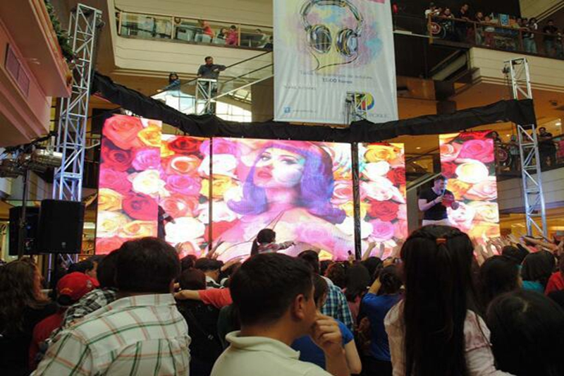 P5.2 Shopping Mall Open Ceremony Event Rental LED Video Wall