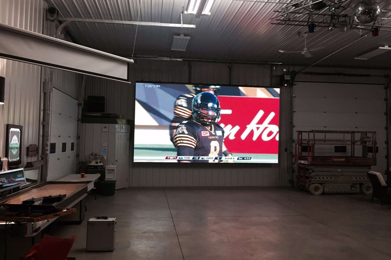 P5.95 Slim Aluminum Panel LED Screen 5mx3m in Canada