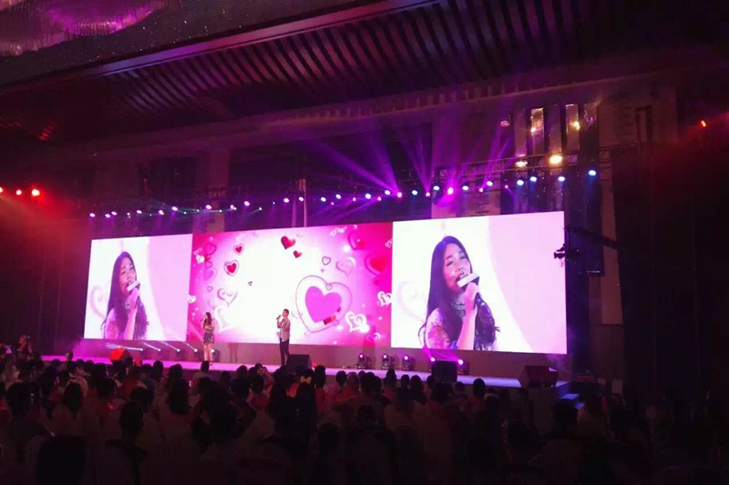 P5.95 Outdoor HD Rental LED Video Wall for Concert