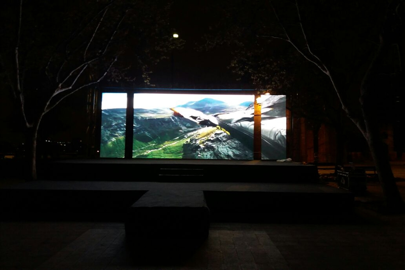 P5.95 Outdoor Events Rental LED Display in Chile