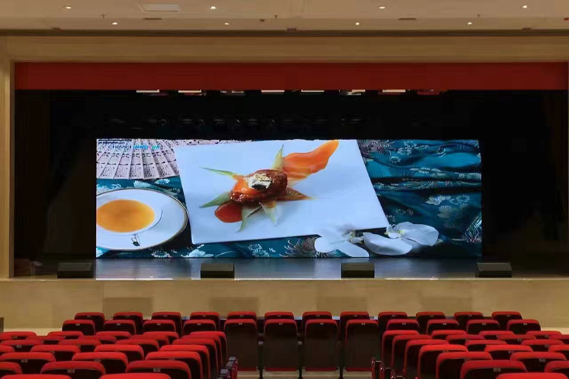 Auditorium Stage Background HD P2.5mm LED Video Screen