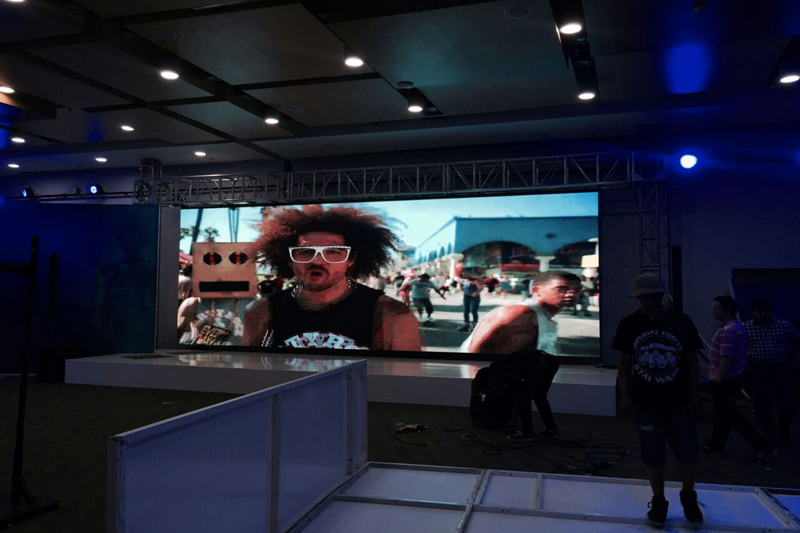Privite Events Indoor HD P3.91 LED Screen In Bogota,Colombia