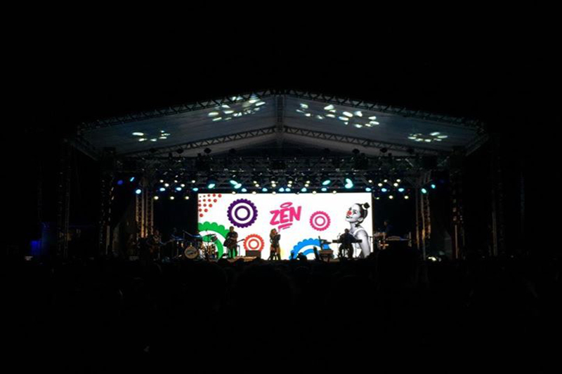 P5.95 Outdoor Light Weight Cabinet Events Rental LED Screen for Stage shows