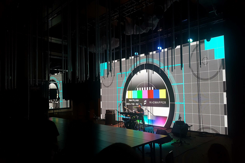 P2.5mm Indoor Events Rental LED Screen in Peru