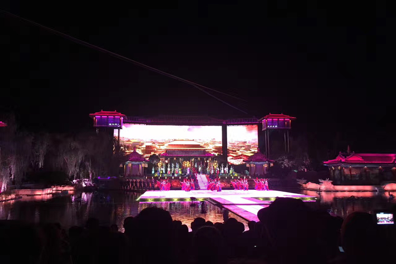 P5.95 Outdoor Stage Rental LED Video Wall