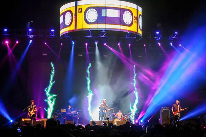P4.81 Indoor Stage Rental LED Screen in Chile