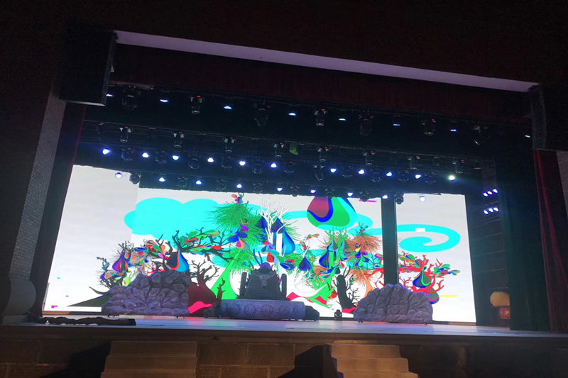 P2.97mm Indoor HD LED Video Wall for Stage Background