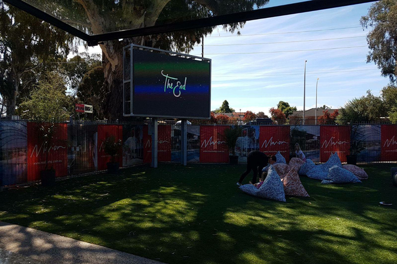 P5 SMD2727 Waterproof HD Advertising LED Screen in Melbourne