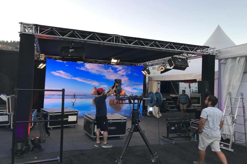 P4.81 Outdoor Events Rental LED Screen