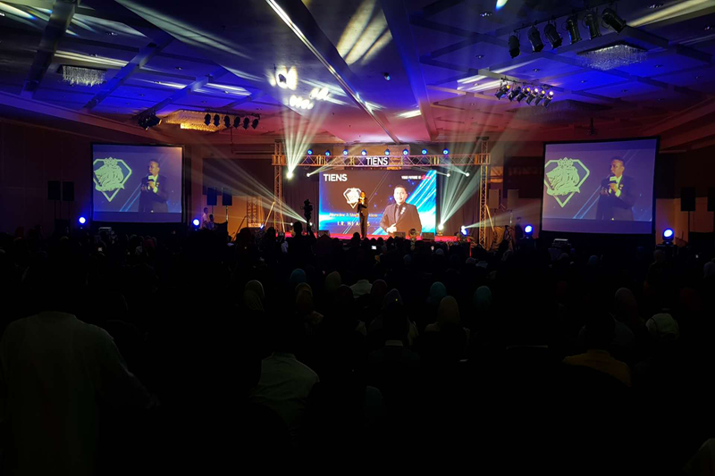 Indoor P3.91 Events Rental LED Screen in Malaysia
