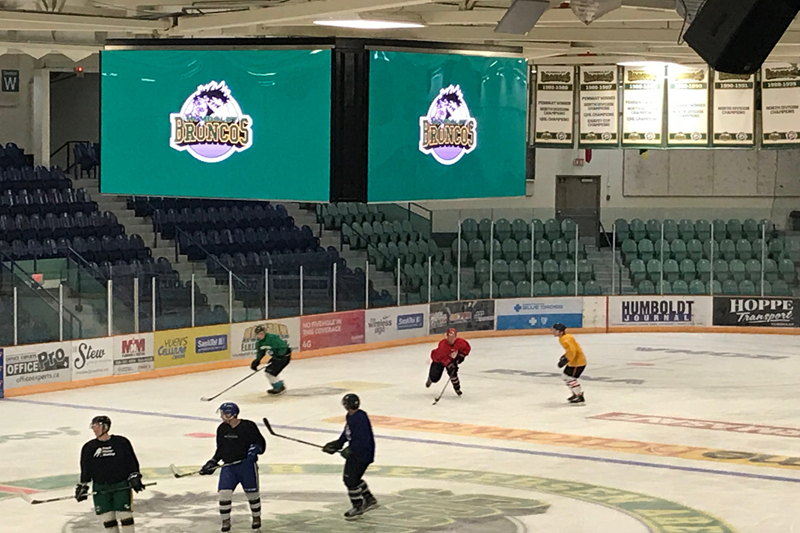 P3.91 Indoor LED Screen for Hockey Arena In Canada