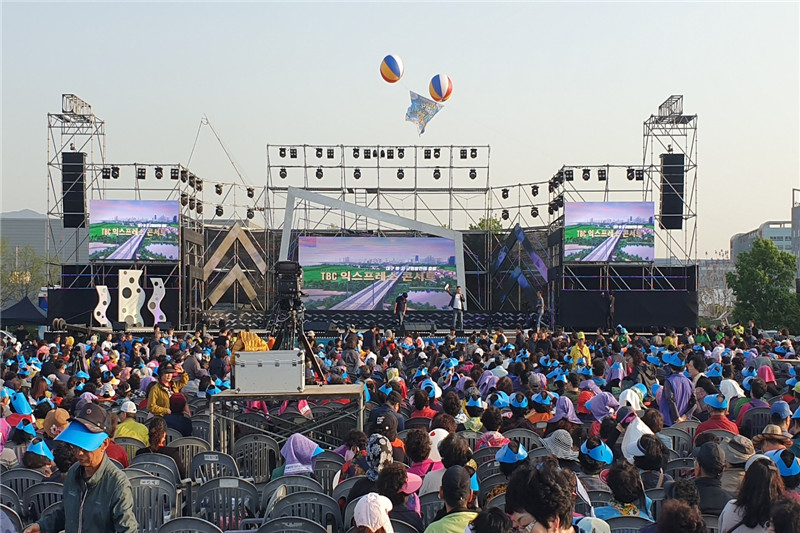 P4.81mm Outdoor Stage Background Concert LED Screen
